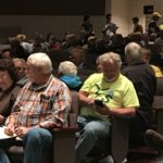 audience at speaking event