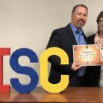 Rita receiving DISC certification