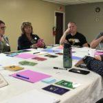 leadership game seminar in progress